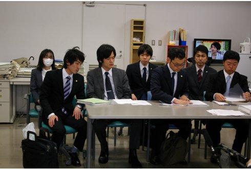 2012年4月20日 提訴後の記者会見