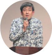 講演する浅尾大輔さん