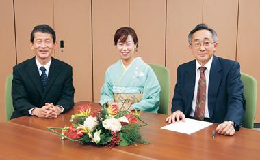 京都府知事予定候補との座談会