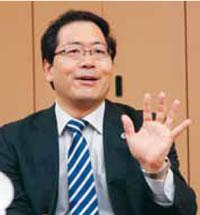2012年 新春座談会市政刷新に決意を述べる中村和雄弁護士