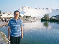 村山弁護士と雪山