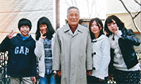渡部馨弁護士とお孫さんたち