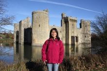 大島弁護士とイギリスの古城