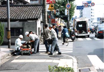 ひん発する交通事故