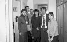 谷口ジュンコ(プログラムスペシャリスト)、斉藤夏江氏が応対