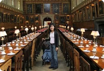 オックスフォード大学の食堂