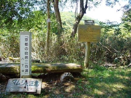 京都の自然200選・八丁平