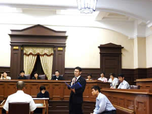 日本母親大会で行われた模擬裁判
