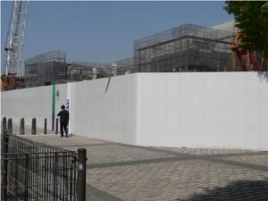 建設中の京都オリックス水族館