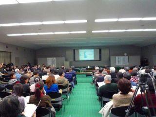 住民150名以上が出席した公開口頭審理
