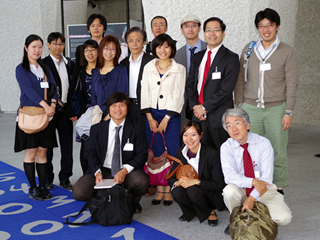 調査参加メンバー(ILOにて)